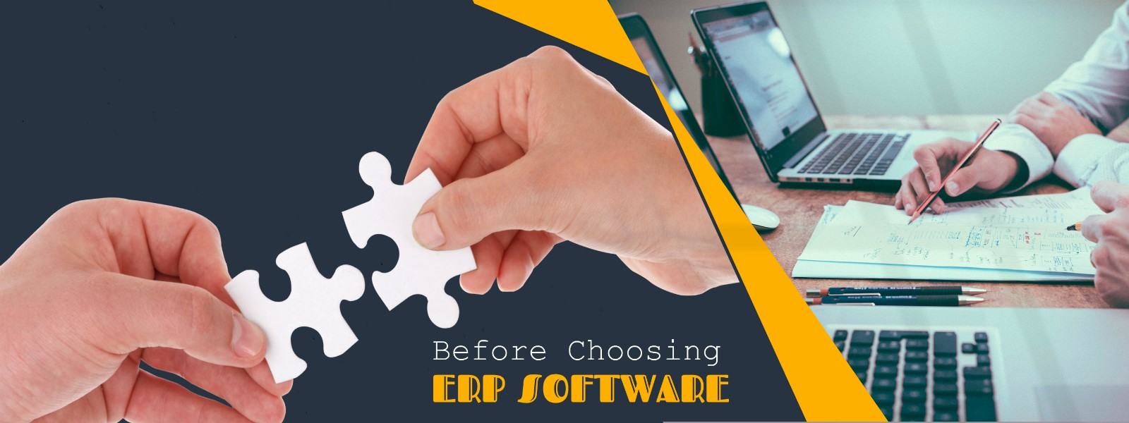 Factors to consider when choosing erp software